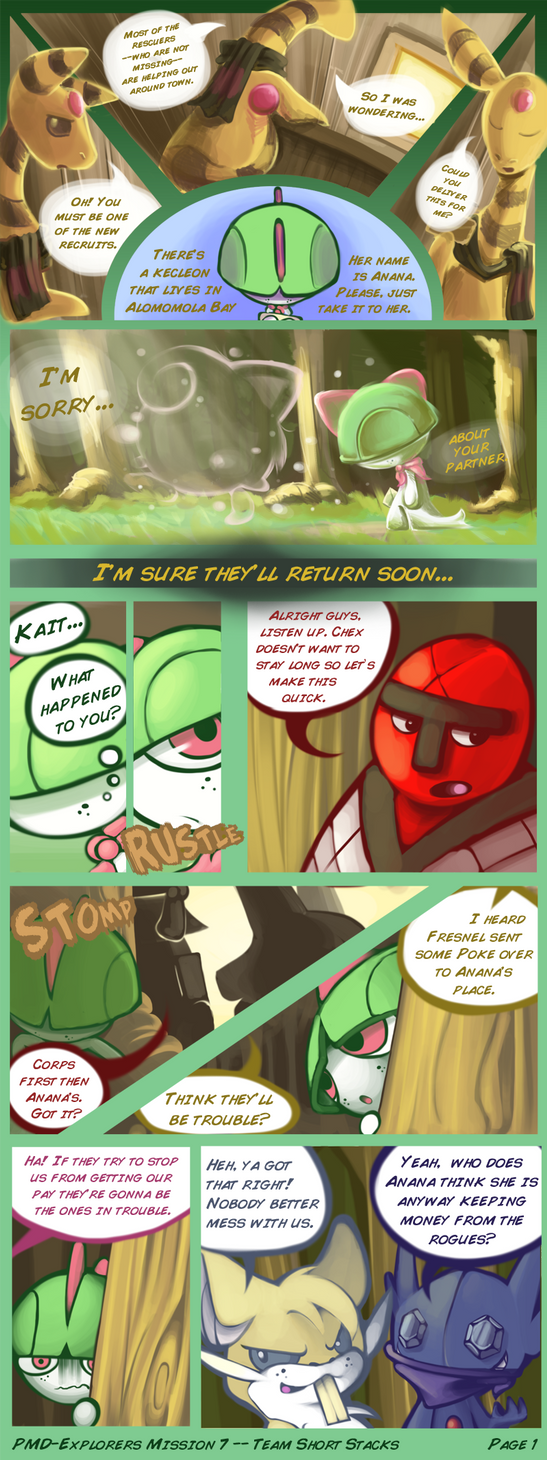 Team Short Stacks M7 Present: Page 1 by JKSketchy