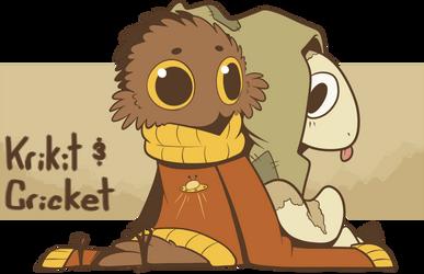 CC: Criket and Krikit by JKSketchy