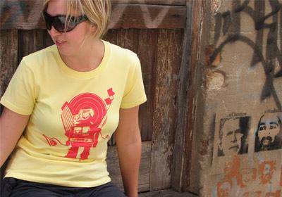 robot city T-shirt Girls by wooshka