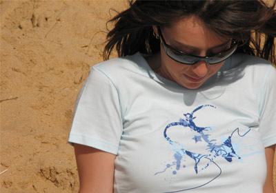 Two Heads T-shirt Girls by wooshka