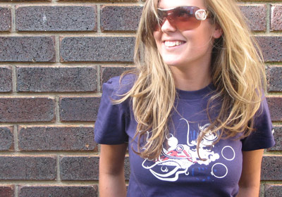 Mind of a Hustler T-shirt Girl by wooshka