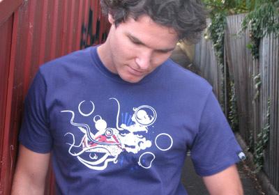 Mind of a Hustler T-shirt Guys by wooshka