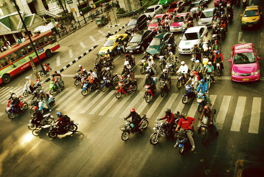 Bangkok Traffic 2 by moraytafix