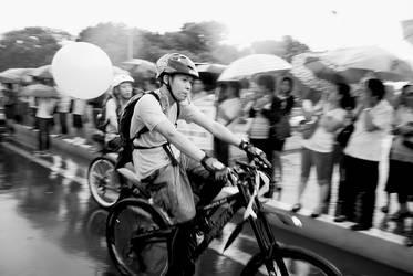 Yellow Bikers by moraytafix