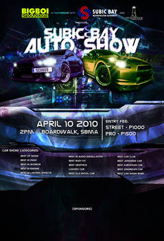 auto show poster
