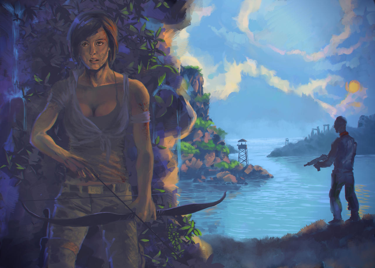 Tomb Raider REBORN by postmortembg