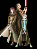 Three Jedi by Bluesrat