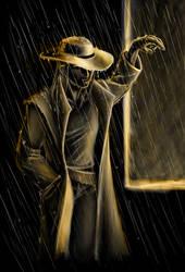 Rain by Bluesrat