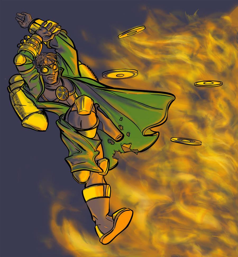 Steampunk Superhero Again by Bluesrat