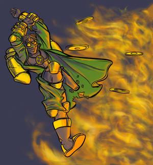 Steampunk Superhero Again