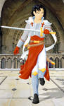 Knight of the Church - colored