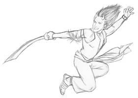 Kung fu Eshu by Bluesrat