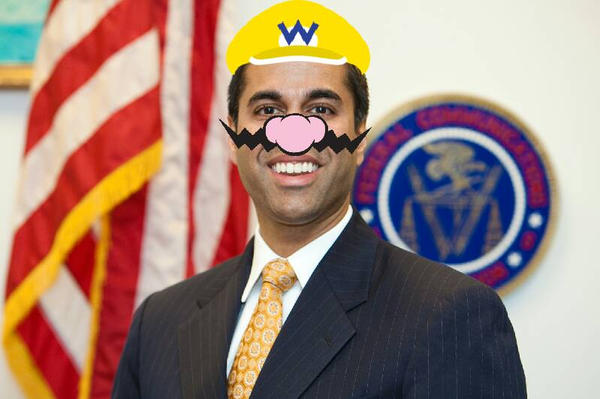 Ajit Pai is Wario by mariogodzilla77865