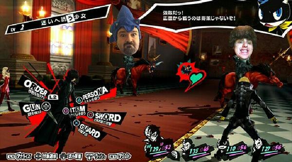 Battling DSPGAMING and Nathan Brown in Persona 5 by mariogodzilla77865