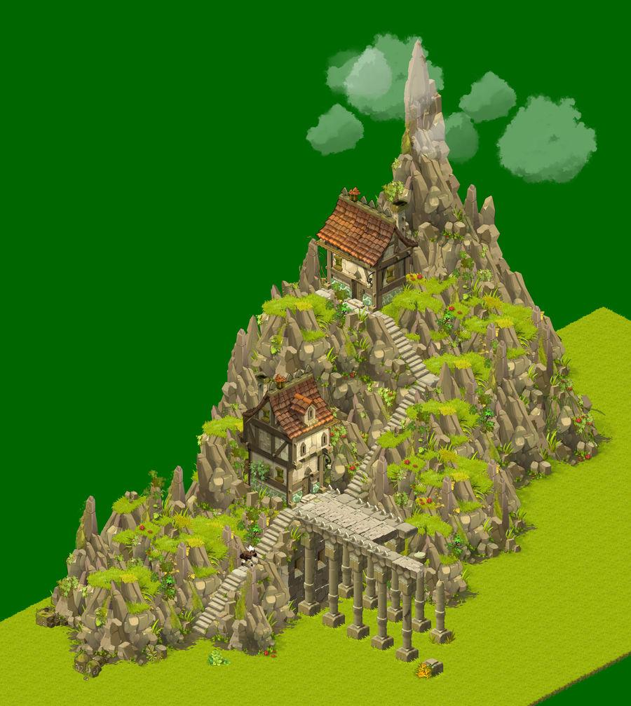 Dofus - Maison sur la colline
