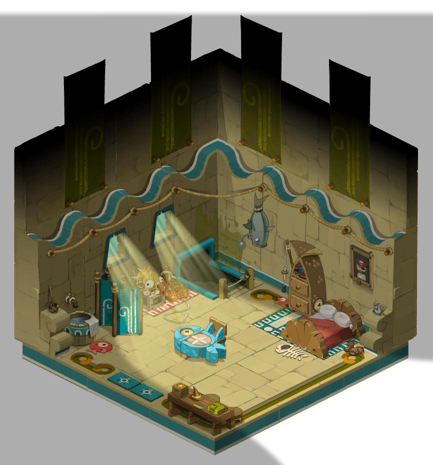 sufokia house 01 sufokia maison 01 dofus by weequays on deviantart. Black Bedroom Furniture Sets. Home Design Ideas