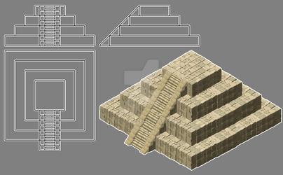 Projet Azteque - WIP - Detail 03
