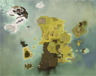 Background : Dofus - Map by Weequays