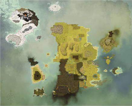 Background : Dofus - Map