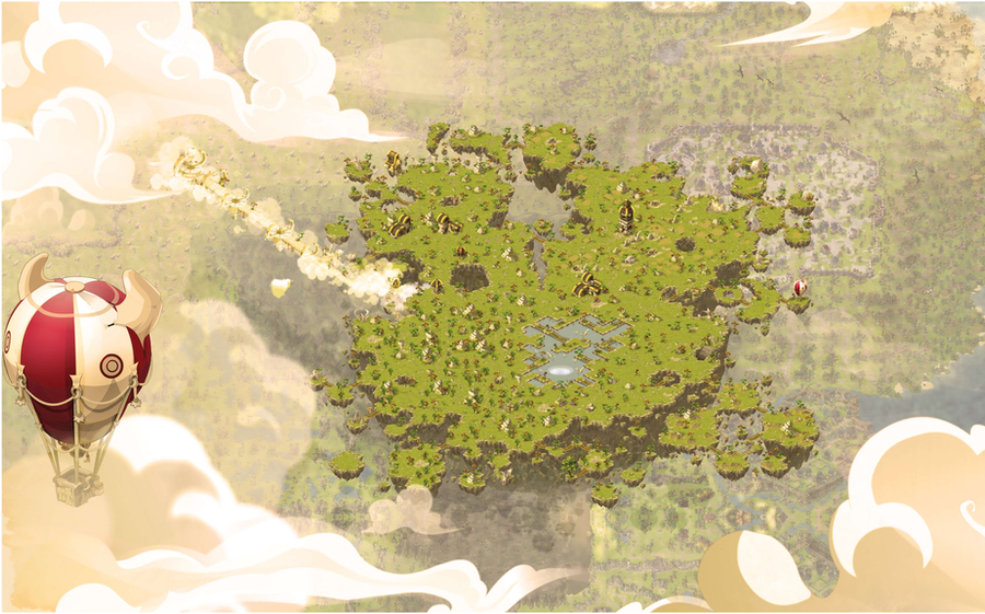 Background : Dofus - Incarnam 2.0 by Weequays