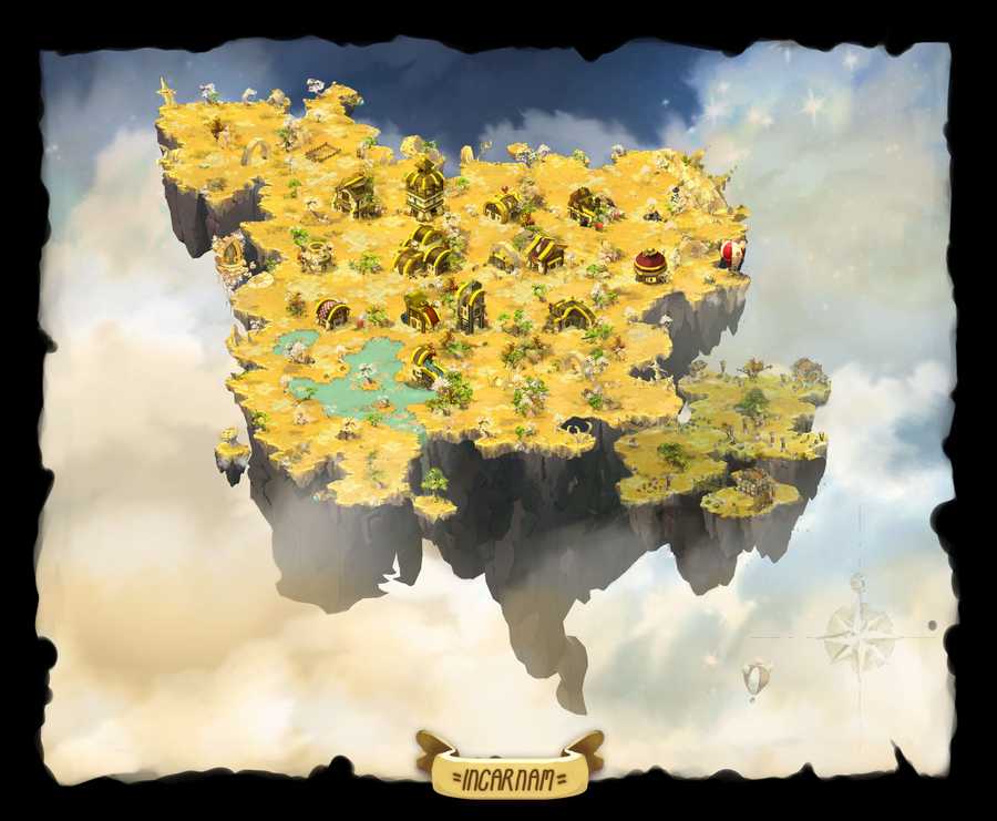 Background : Dofus - Incarnam 2.29 by Weequays