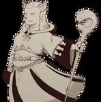 Petra the Hrothgar White Mage by ruckeysquad