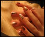 Halloween - Spider -nail-art