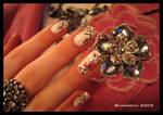 Crystal sakura-3 -nail-art