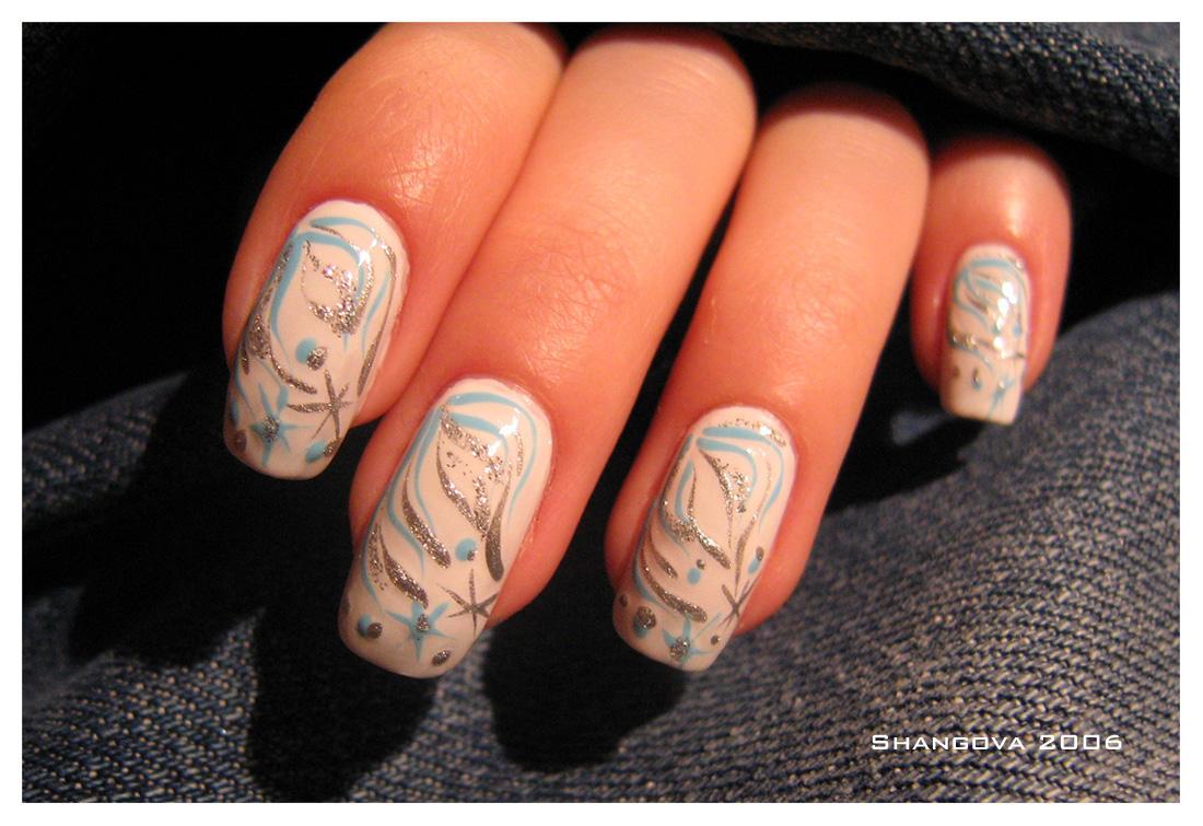 Winter-3 -nail-art by Shangova on DeviantArt