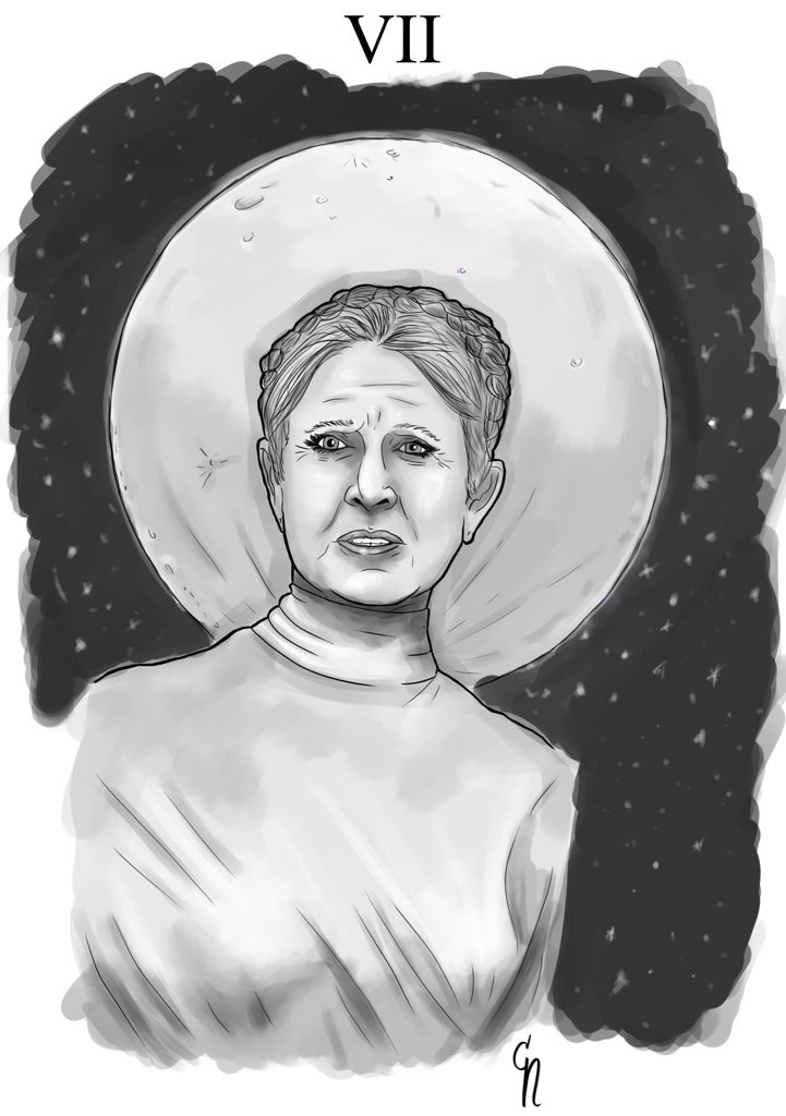 Old princess Leia by Nannix85 on DeviantArt