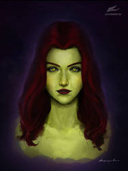 Poison Ivy Portrait