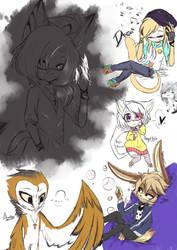 doodle doodle by Envyushi