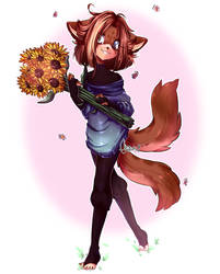 Sunflowers by Envyushi
