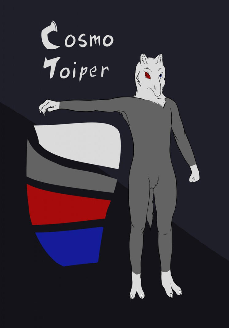 Cosmo Toiper Ref Sheet by Khandle