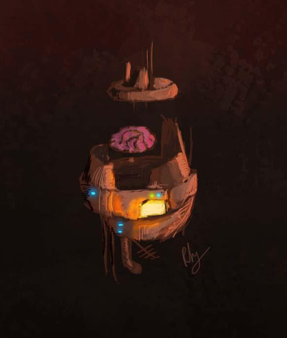 Cerveau robotique by ROS-Fabrice