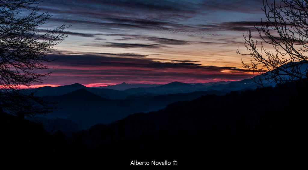 Tramonti Valsesiani by alcyphoto91