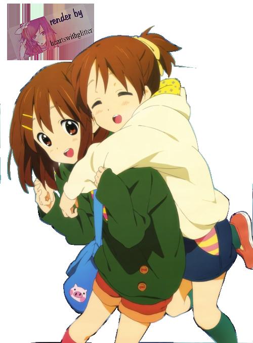 Yui y Ui Hirasawa by heartswithglitter