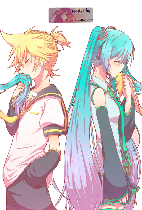 Hatsune Miku Kagamine Rin Vocaloid Detached Sleeves Groups - WallDevil