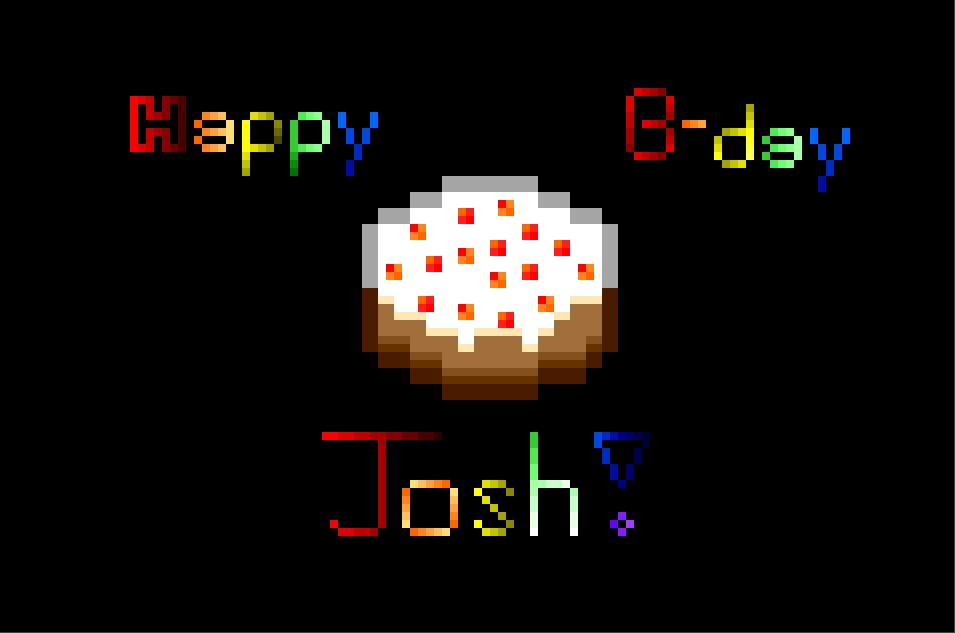 Happy Birthday Cake For Josh Images