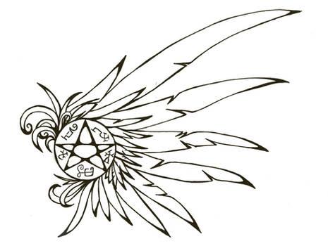 Devils Trap tattoo