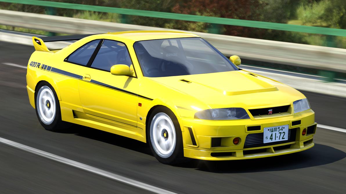 Nissan GTR R33 by FearFox9000