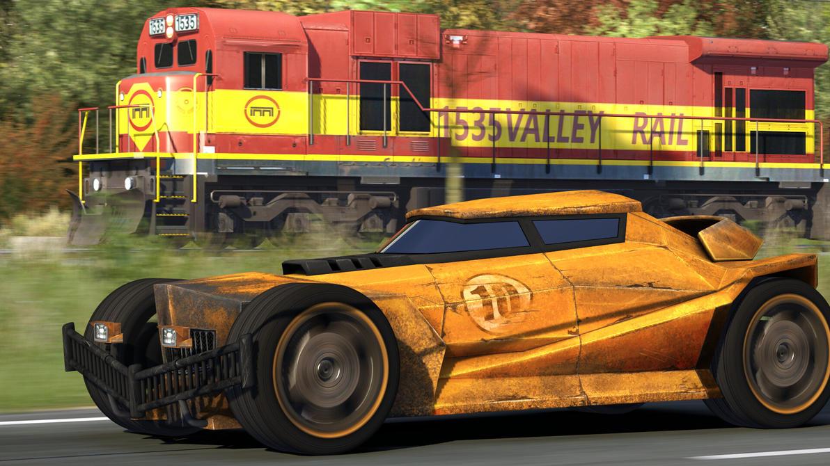 Race of Steel II by FearFox9000