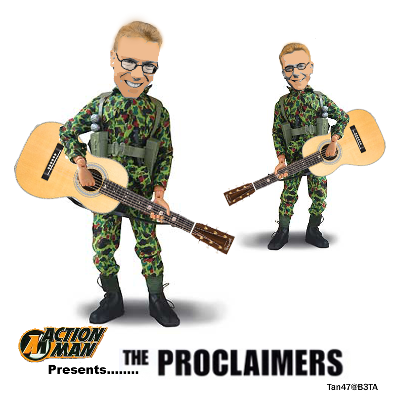 The proclaimers action men by tan47 on deviantart