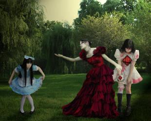 Alice be nice to the Diamond by chibimassacre