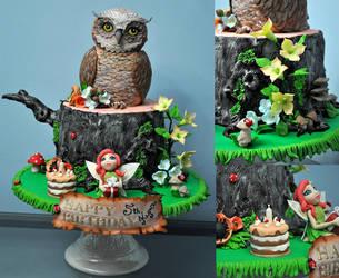 Owl by HajnalkaMayor