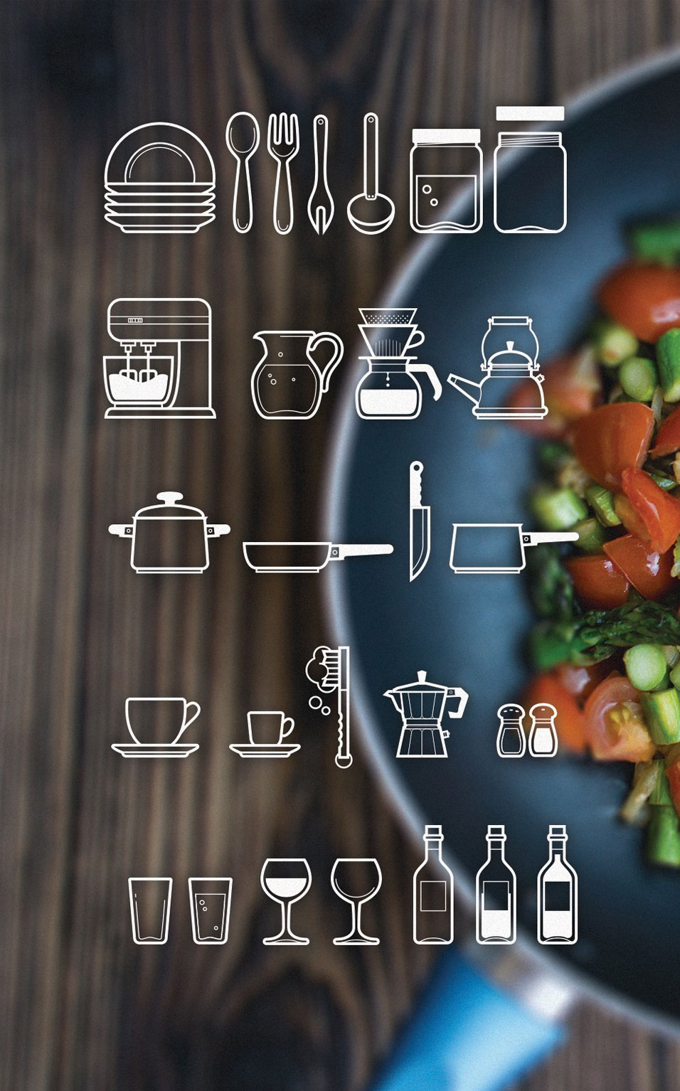Free-Cutlery-Icon-Set by Firosnv