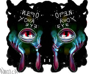 OpEn YoUR EyE by NazzCat