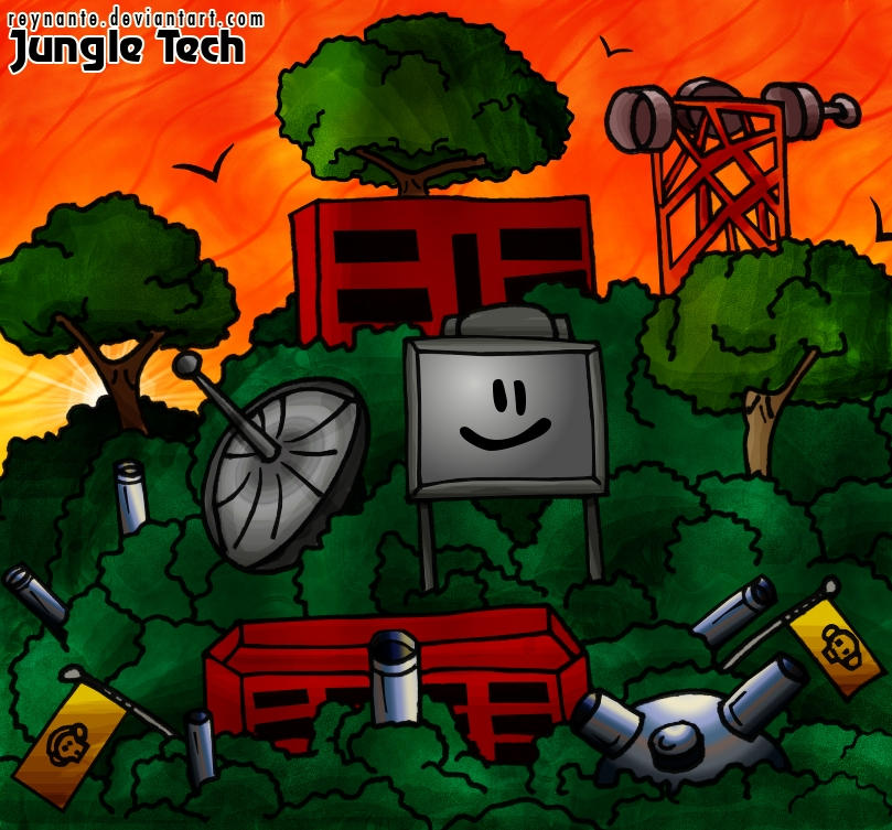 Jungle Tech by reynante