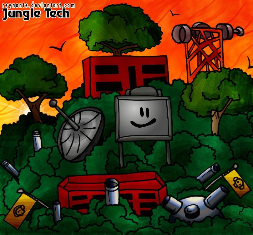 Jungle Tech by reynante