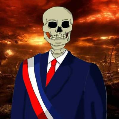 el presidente muerto  by velozxd
